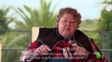 """Gloria Serra pone entre las cuerdas a la falsa hija del rey: """"¿Has vivido toda la vida de las estafas?"""""""
