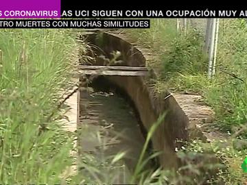 Lugar donde se ha encontrado el cadáver de una mujer en Burriana