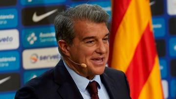 Joan Laporta, presidente del Barça