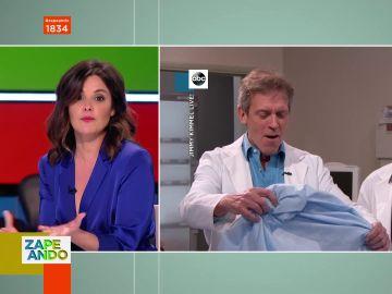 """La desconocida anécdota de Marta Torné con Hugh Laurie (House): """"Tuve que besarme con él"""""""