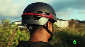 Imagen de un casco inteligente
