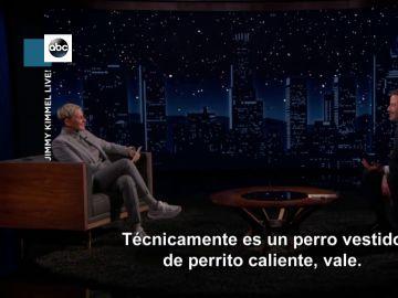 Jimmy Kimmel y Ellen DeGeneres