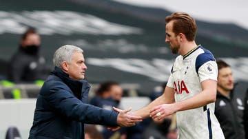 Mourinho y Harry Kane