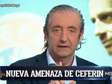 """El posible pacto PSG - UEFA que Josep Pedrerol desvela en 'El Chiringuito': Amenazar con que el Real Madrid quede fuera de Champions y así Mbappé..."""""""