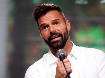 El cantante puertorriqueño Ricky Martin