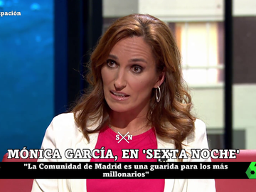 """La crítica de Mónica García (Más Madrid) a la fiscalidad de Ayuso: """"Madrid es una guarida para los más millonarios"""""""