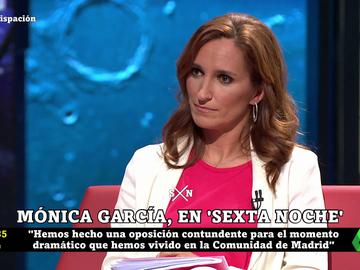 """Mónica García defiende que Pablo Iglesias abandonara el debate de la SER: """"Me parece legítimo que se levantara"""""""
