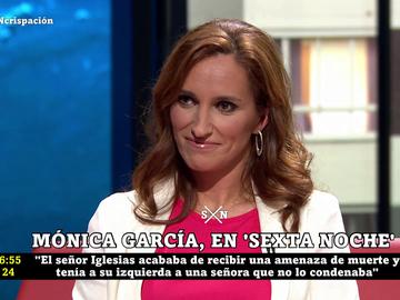 """Mónica García: """"Tenemos el mejor vacunódromo en España que se llama 'atención primaria' y 'centros de salud"""""""