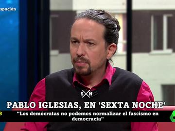 """Iglesias: """"La deshumanización crea un caldo de cultivo para que un día te peguen un tiro en la cabeza"""""""