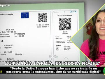 Pasaporte COVID: Boticaria García nos guía por el certificado que propone la UE para viajar