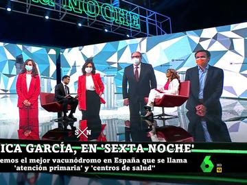 Mónica García, en laSexta Noche