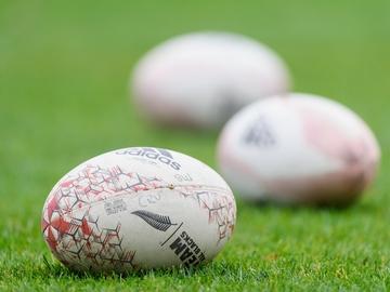 Imagen de recurso de un campo de rugby