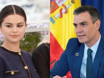 Selena Gómez y Pedro Sánchez