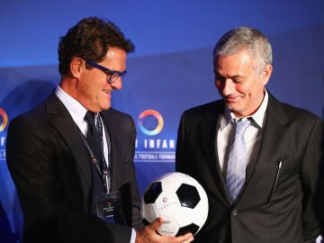 Capello y Mourinho