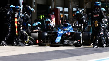 El Alpine de Fernando Alonso