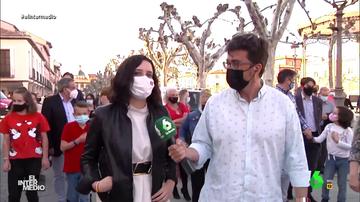 """Vídeo manipulado - La surrealista respuesta de Ayuso a la dimisión de Iglesias: """"¿Crees que se habrá enfadado por algo?"""""""
