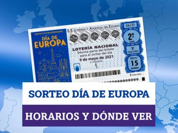 Horario y dónde ver: Sorteo Extraordinario Lotería Nacional Día de Europa