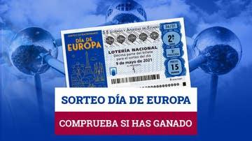 Comprobar resultados del Sorteo Extraordinario de Lotería Nacional del Día de Europa de hoy, domingo 9 de mayo