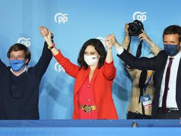 Resultados de las elecciones madrileñas: Isabel Díaz Ayuso gana las elecciones y Pablo Iglesias abandona la política