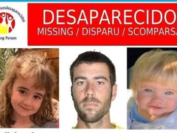 Difunden un nuevo cartel de las niñas desaparecidas en Tenerife
