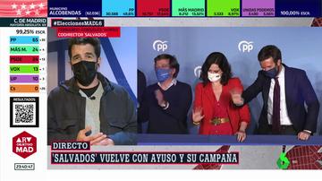 """Gonzo, tras adentrarse en la campaña de Ayuso: """"La política es cada vez más los personalismos, no las propuestas"""""""