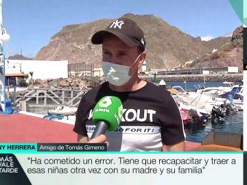 """Un amigo de Tomás Gimeno habla sobre su posible paradero: """"Se ha ido a un punto de la costa africana"""""""