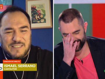 """La angustia de Ismael Serrano cuando empezó a oler """"a mierda"""" el estudio en una entrevista: """"Había que parar eso, era horrible"""""""