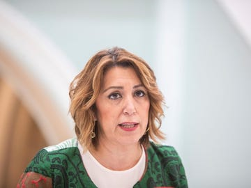 La secretaria general del PSOE-A, Susana Díaz