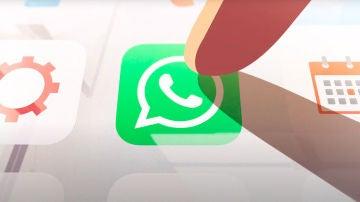 El icono de WhatsApp