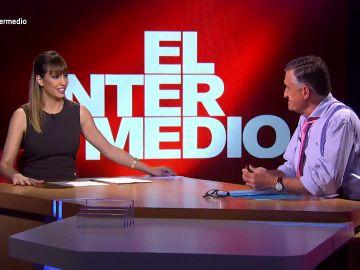 """""""Progre y del Madrid, menuda semanita llevas"""": la 'pullita' de Sandra Sabatés que deja descolocado a Wyoming"""