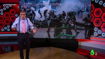 """La reflexión de Wyoming sobre la brutalidad estatal en Colombia: """"Si esto hubiera ocurrido en Venezuela coparía las portadas"""""""