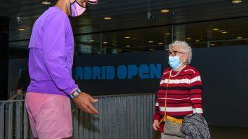 Rafa Nadal y Manuela