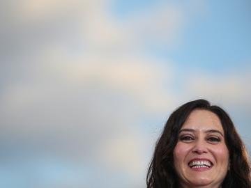 Una sonriente Isabel Díaz Ayuso