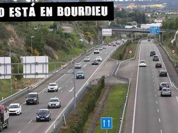 Vista de la AS-II que une Oviedo y Gijón