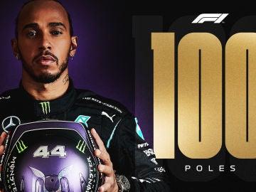 Lewis Hamilton, cien poles