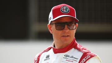Kimi Raikkonen, con Alfa Romeo