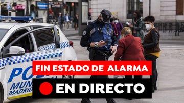 Fin del estado de alarma: medidas en Madrid, cierre perimetral en comunidades y toque de queda, en directo