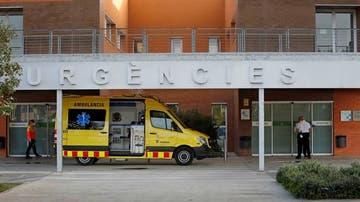 Vista del exterior del Hospital de Igualada, Barcelona