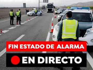 Fin del estado de alarma: toque de queda en Madrid y España, cierre perimetral y nuevas medidas, en directo