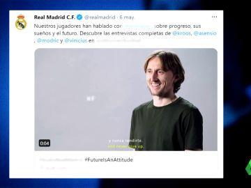 El error del Real Madrid en Twitter: confunde a usuarios anónimos con Modric, Asensio o Vinicius