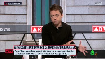 """Al Rojo Vivo (10-05-21) Errejón, sobre el fin del estado de alarma: """"El Gobierno se ha lavado las manos. Yo creo que la soberanía está en el Congreso"""""""