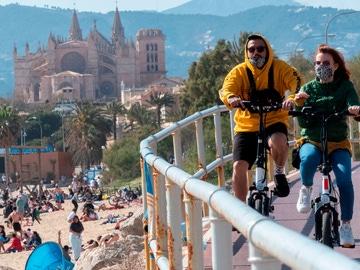 Imagen de la Playa de Can Pere Antoni, en Baleares