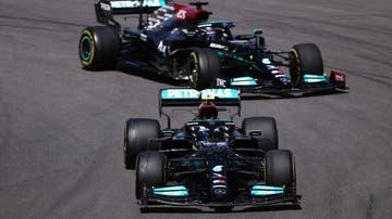 Valtteri Bottas y Lewis Hamilton