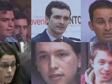 Líderes políticos de jóvenes