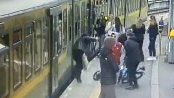 Agresión en una estación de tren de Irlanda