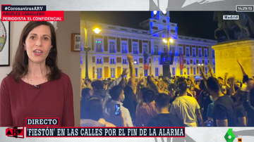 Ángeles Caballero, en Al Rojo Vivo