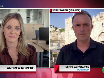 """El análisis de Mikel Ayestarán sobre el conflicto palestino-israelí: """"Es hora de que la comunidad internacional presione"""""""