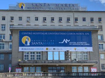 Hospital Santa María en Lisboa