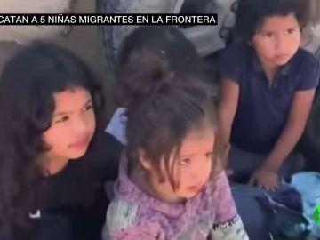Rescatan a cinco niñas migrantes, entre ellas una bebé, abandonadas en Texas