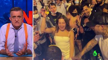 El mensaje de Wyoming a Pedro Sánchez tras las imágenes de irresponsables de fiesta sin mascarilla